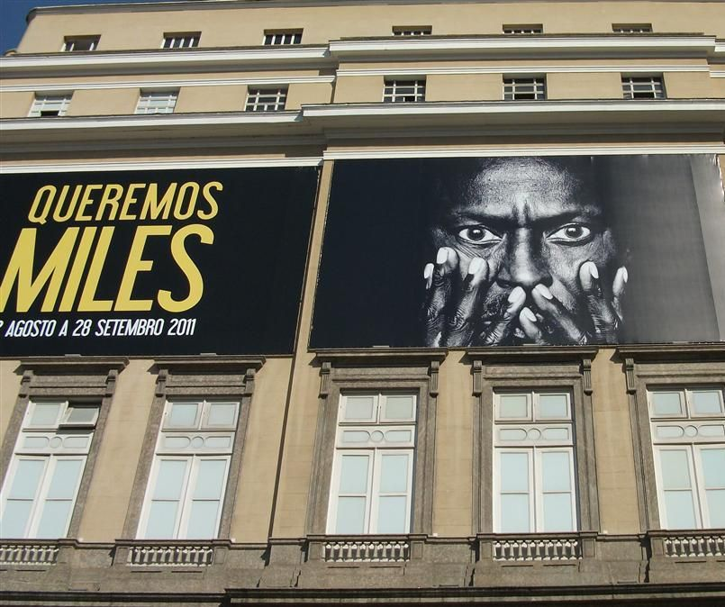 """Exposição """" Queremos Miles """" (We Want Miles) Centro Cultural Banco do Brasil - Rio de Janeiro em 30Agosto2011"""