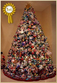 Best Christmas Trees.Christopher Radko Best Christmas Tree Contest Winner 1 Add