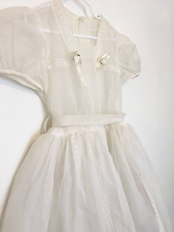 Vintage girls Easter dress, 1950s white confirmation dress, size 7 children's, s... -  Vintage girls Easter dress, 1950s white confirmation dress, size 7 children's, sheer lace #confirmationdresses Vintage girls Easter dress, 1950s white confirmation dress, size 7 children's, sheer lace Source by pstt232323  - #confirmationdresses Vintage girls Easter dress, 1950s white confirmation dress, size 7 children's, s... -  Vintage girls Easter dress, 1950s white confirmation dress, size 7 children� #confirmationdresses