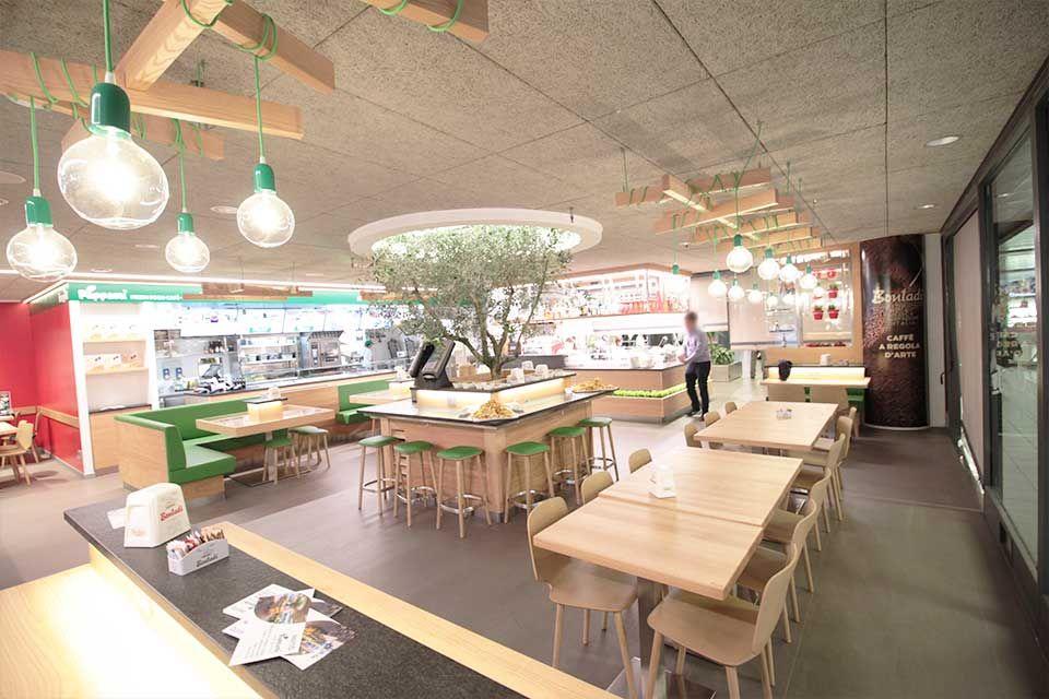 Arredamento Trattoria ~ Progetto arredamento architettura e design pappami fresh food café