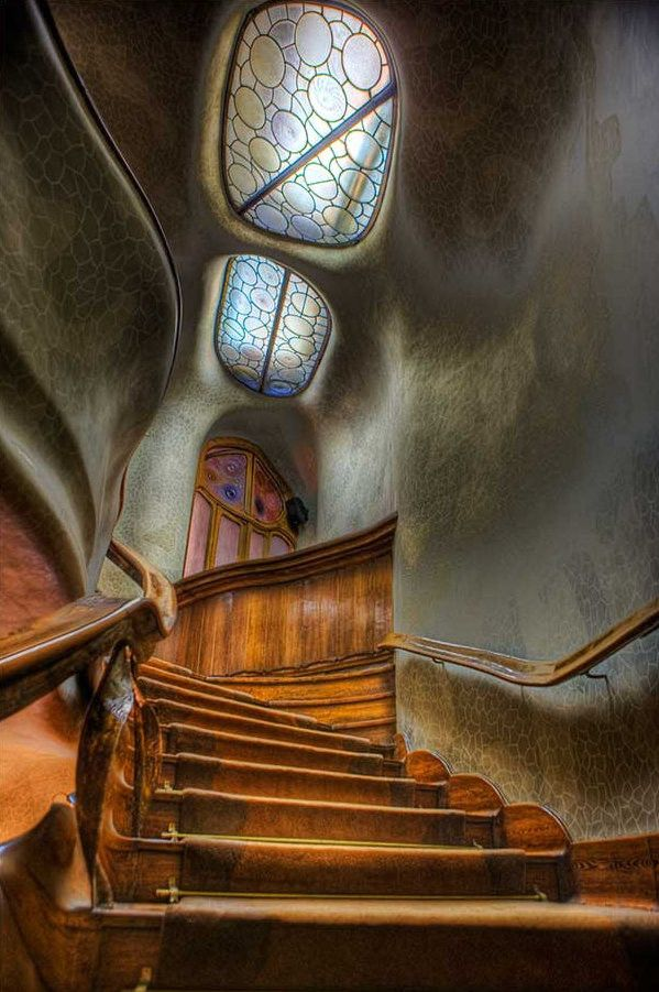 Casa Batlló, Is A Building Restored By Antoni Gaudí And Josep Maria Jujol,  Built In The Year 1877 And Remodelled In The Years Located In Barcelona,  Spain.