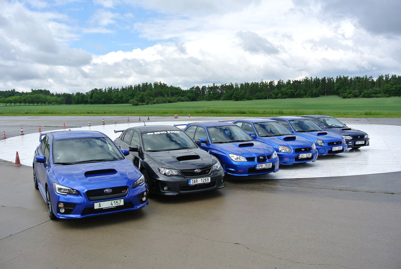 Subaru Impreza STI Through The Years