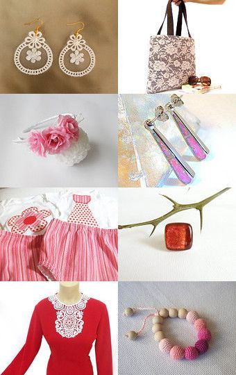 APRIL SHOWERS by Min� Kerget on Etsy--Pinned with TreasuryPin.com