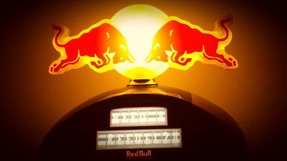 Redbull gives you wings - Custom fridge