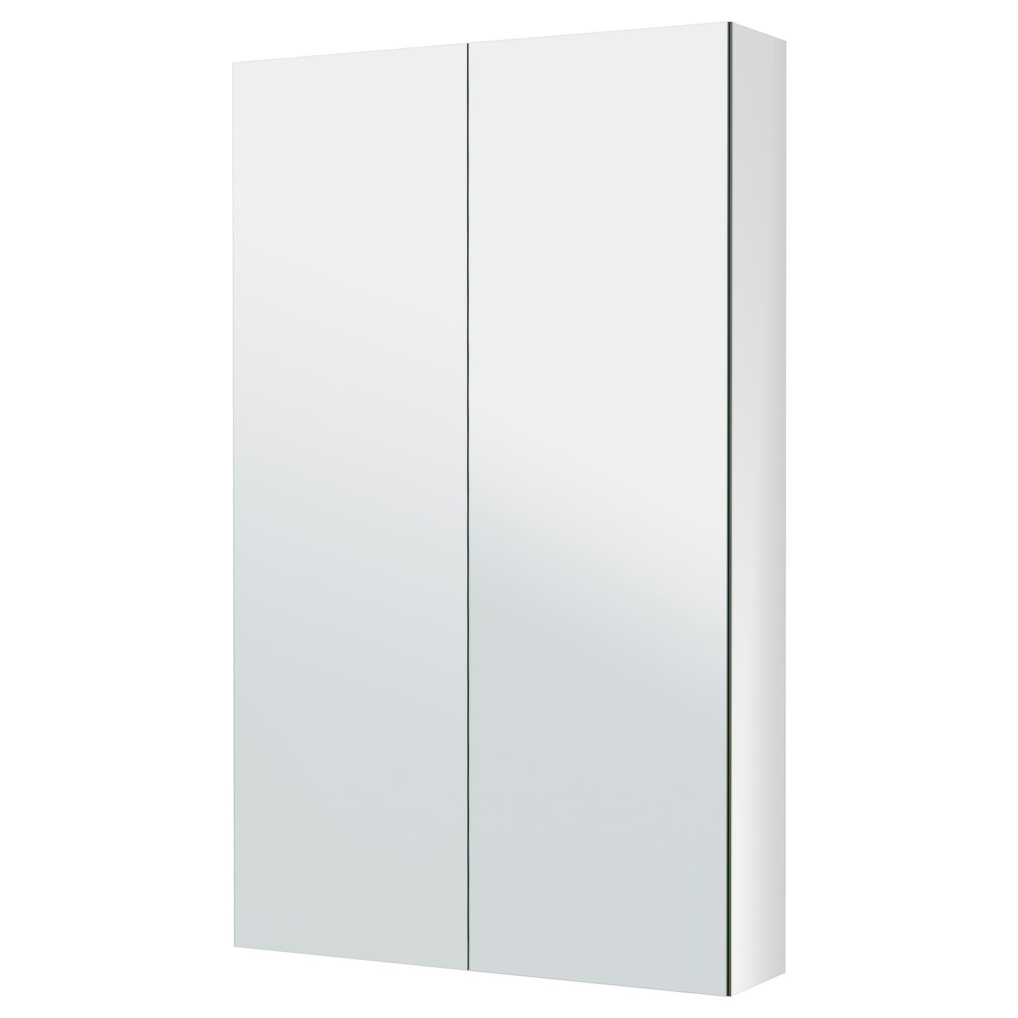 Godmorgon Mirror Cabinet With 2 Doors 23 5 8x5 1 2x37 3 4 Ikea Cabinets Bathroom Storage