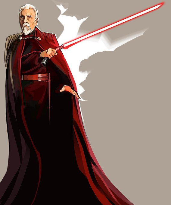Pin On Count Dooku