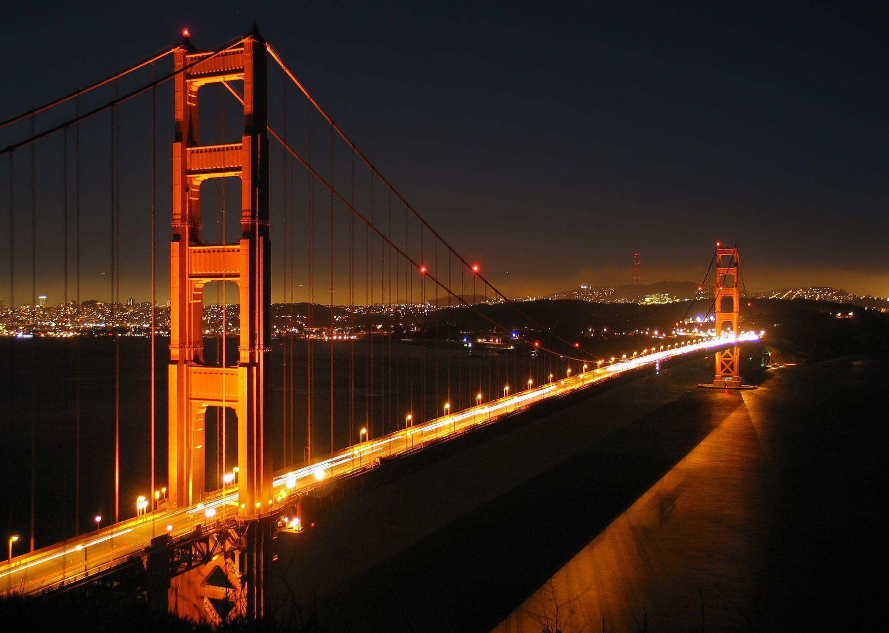 Ggb_by_night - San Francisco #honeymoon | Travel...Travel...Travel ...