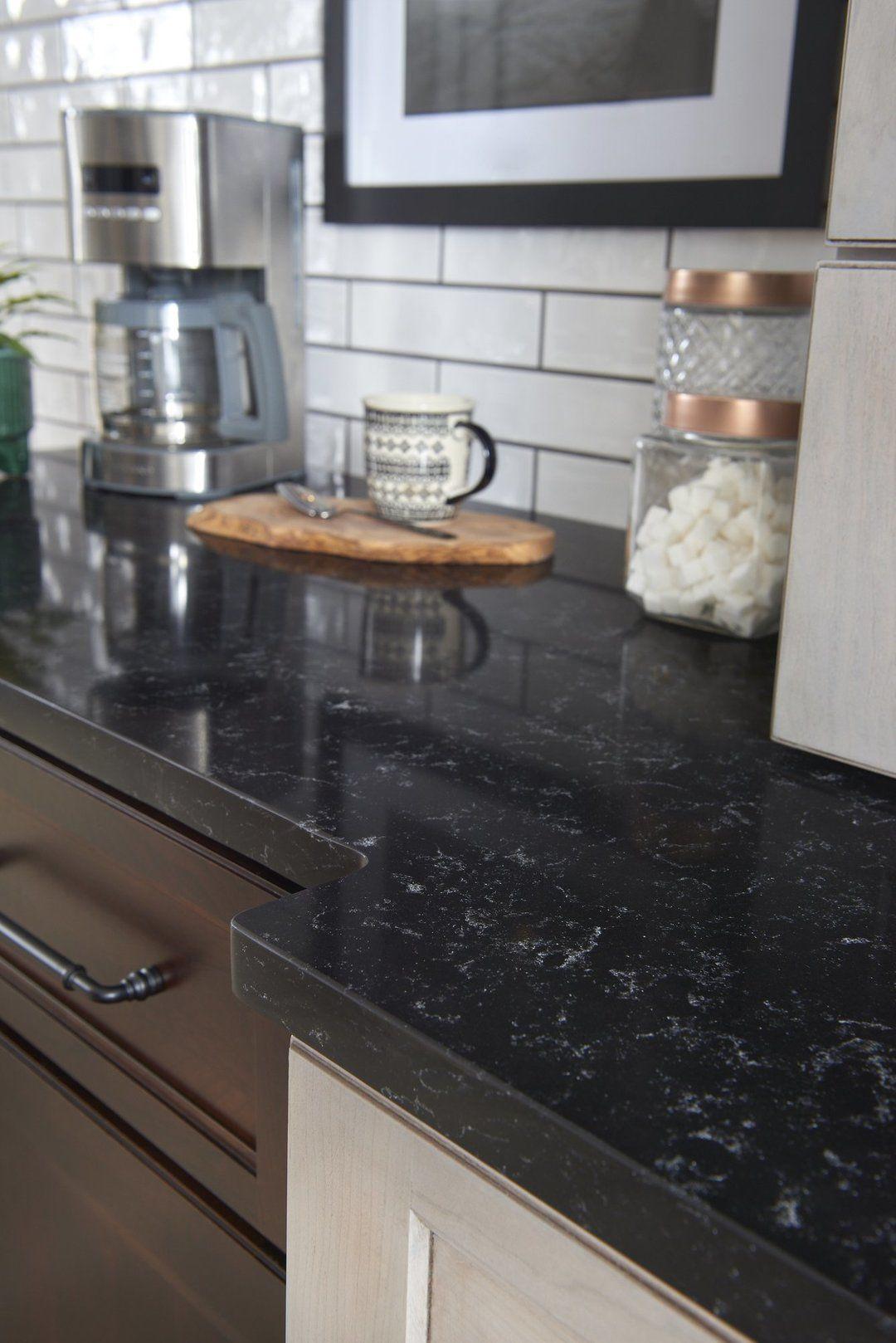 Silhouette Quartz By Hanstone Quartz Quartz Quartzcountertops Kitchendesigner Kit Quartz Kitchen Countertops Simple Kitchen Remodel Kitchen Remodel Layout