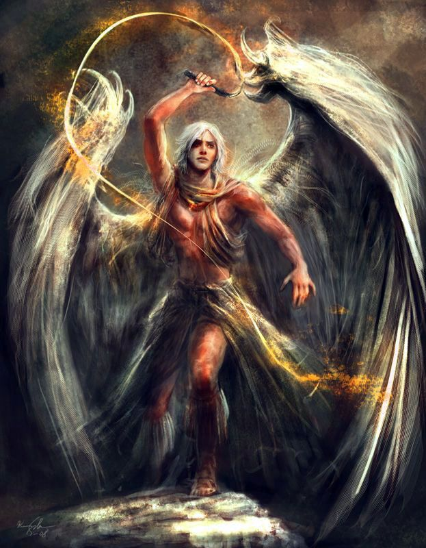 Samael | Tatuajes de angeles guerreros, Serafines angeles ...
