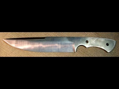 1 Time On The Line 39 S Knife Grind After Heat Treat Youtube Survival Knife Knife Knives And Swords