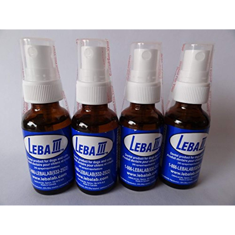 Leba III Pet Dental Spray 4 Pack >>> Visit the image