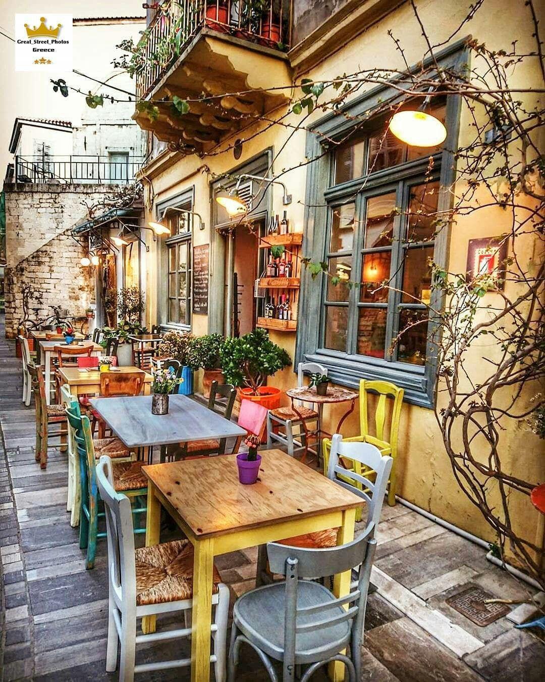 Grecia Tiendas Cafés Y Terrazas Diseño De Interiores