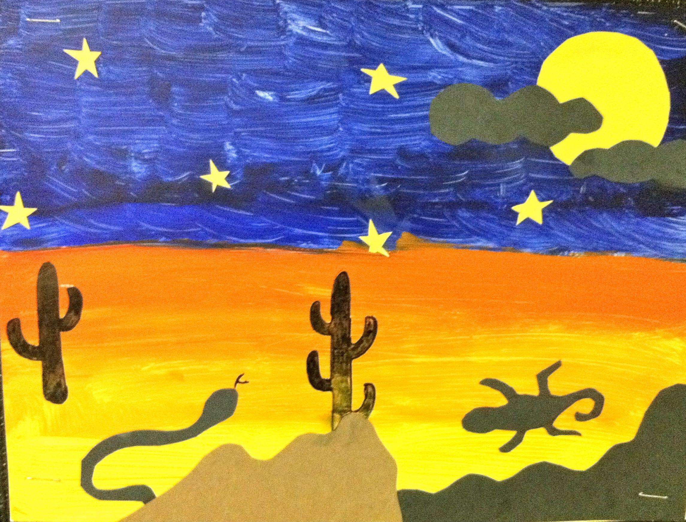 Desert Bulletin Board Ideas
