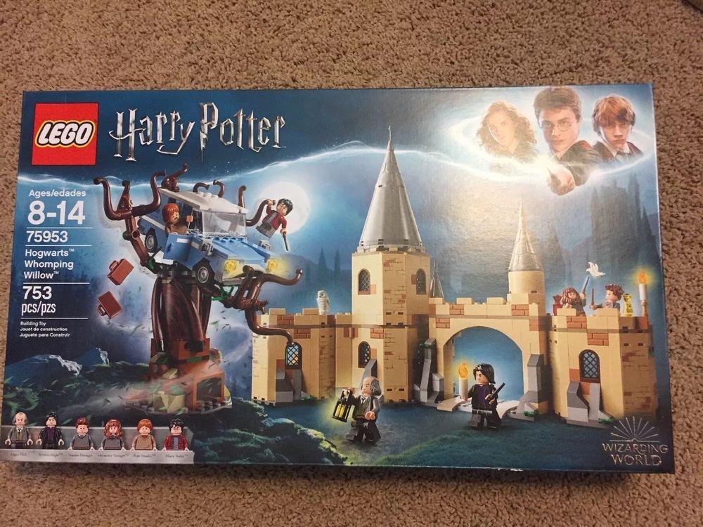 Lego Harry Potter 75953 World Hogwarts Whomping Wizarding Willow 2018 Nib Harrypotter Harry Book Harry Potter Lego Sets Harry Potter Set Lego Harry Potter