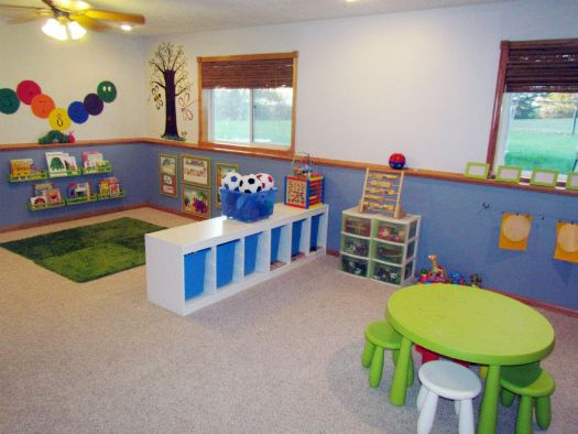 47 A Perfectly Fantastic Playroom Before After Daycare Decor Daycare Setup Daycare Design