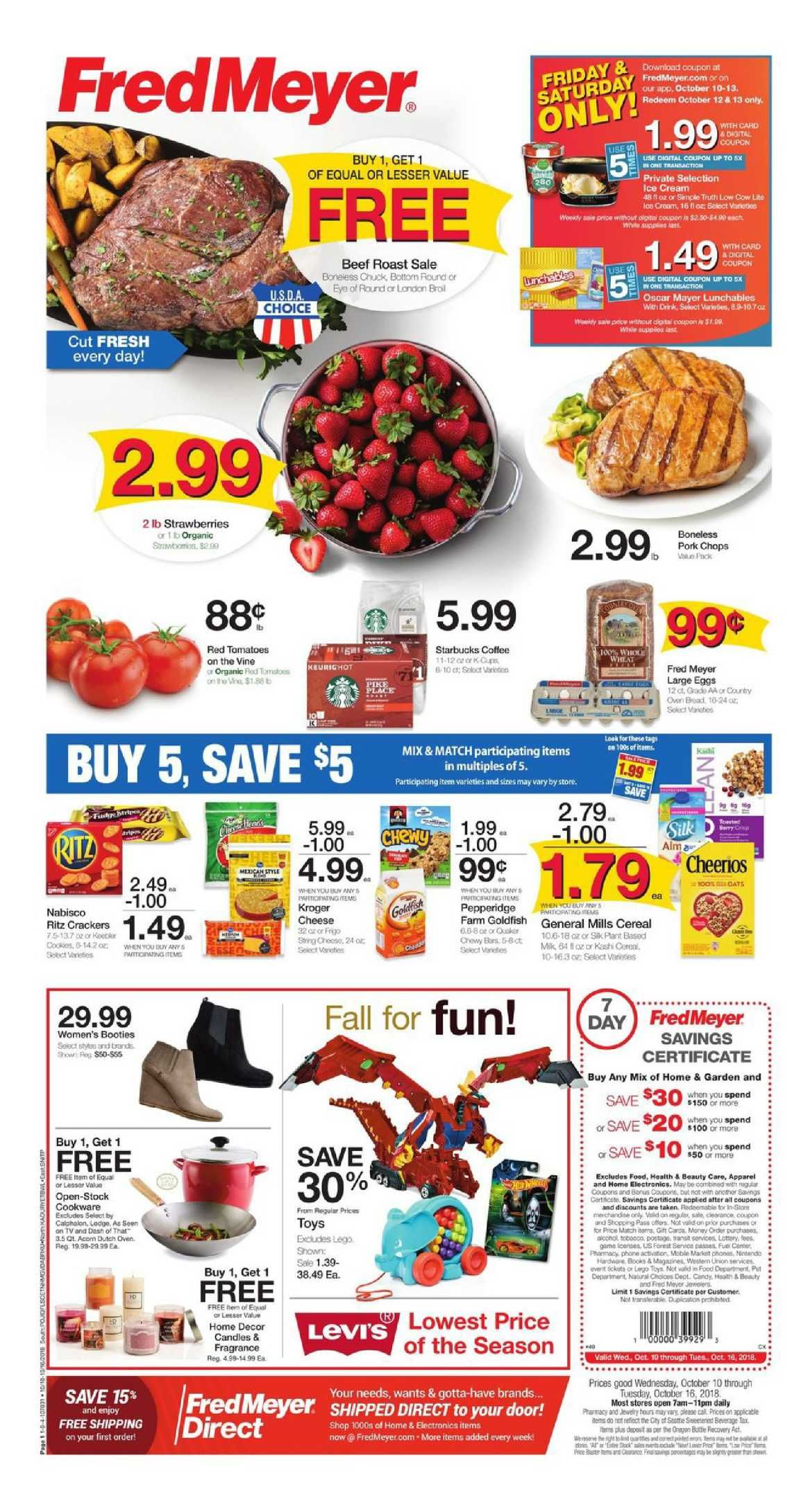 1565123f6cd7 Check Latest Fred Meyer Weekly ad flyer October 10 – 16