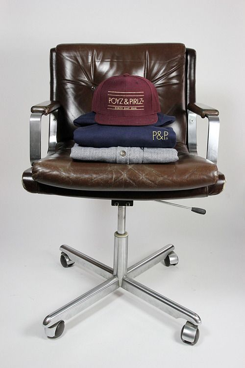 Tecno Brown Leather chair