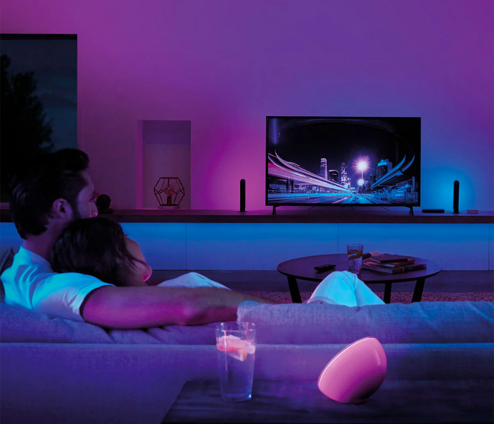 Philips Hue Play Hdmi Sync Box Lights Up Your Tv Time Hue Philips Hue Lights Phillips Hue