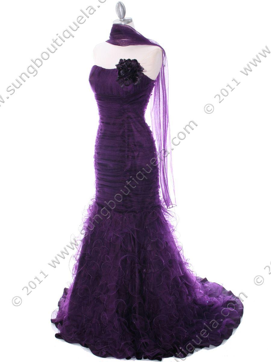 Evening Dresses | Purple Prom Dresses, Purple Bridesmaid Dress, My ...