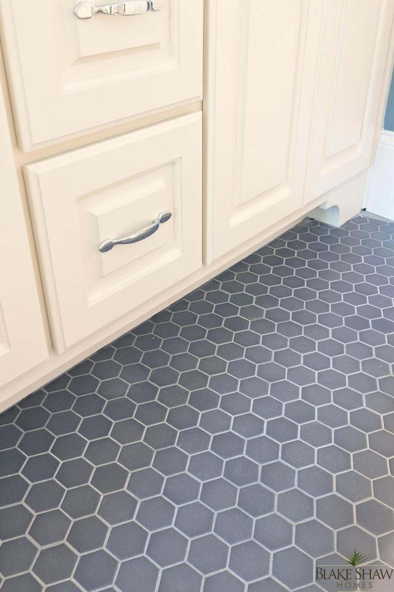 Octagon Tile - Master Bath (this is exactly what we inherited with ...