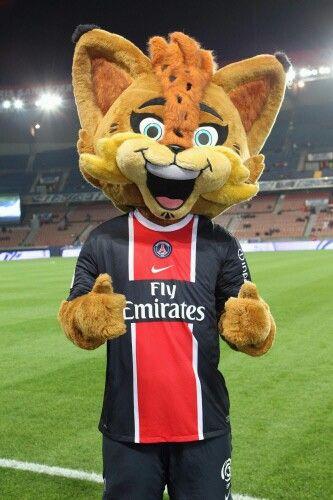 Germain le lynx -Paris Saint-Germain - Ligue 1   Mascotte, Lynx, Saint germain