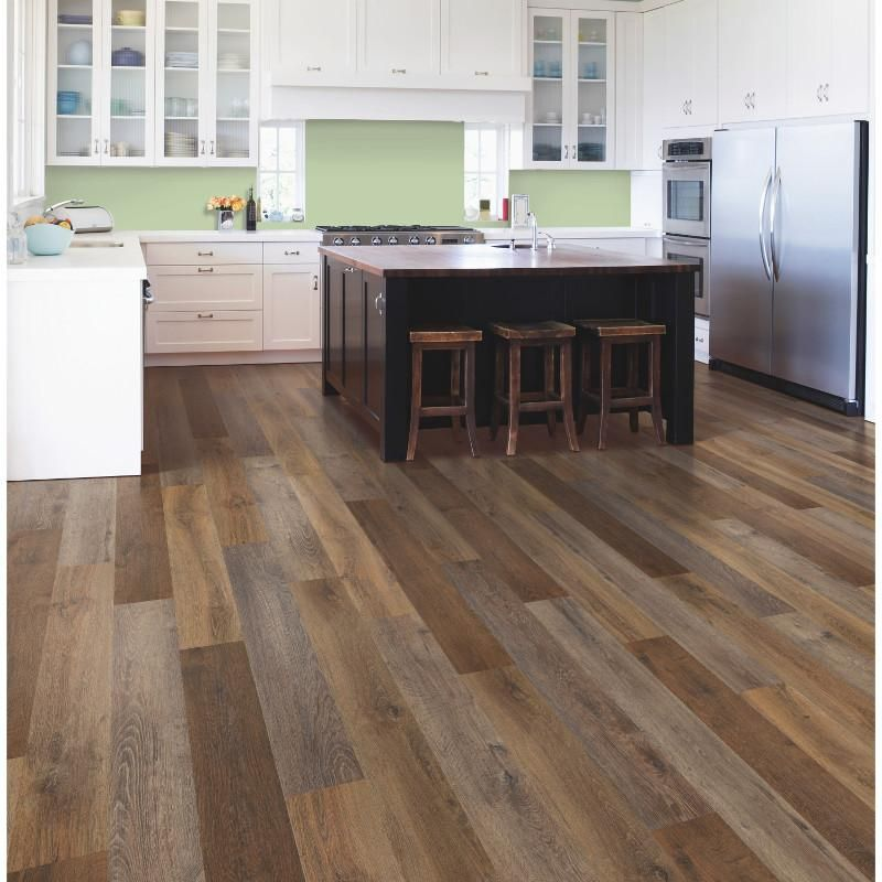 Mohawk Solidtech Variations Shadow Wood Onflooring