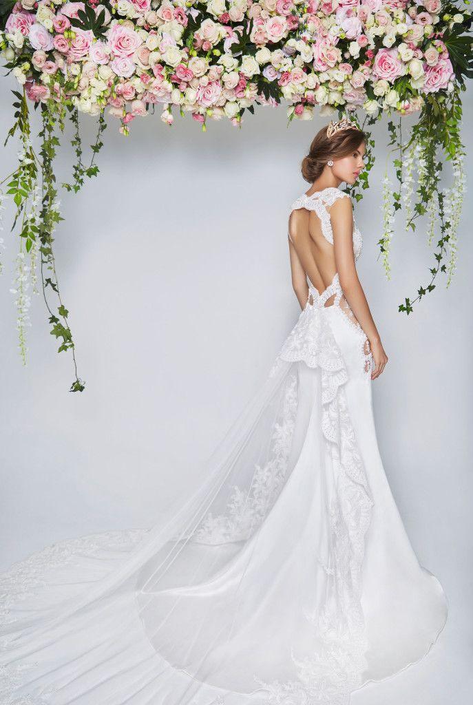 Perfect Low Back Wedding Dresses Bridal Boutique Singapore | Wedding ...
