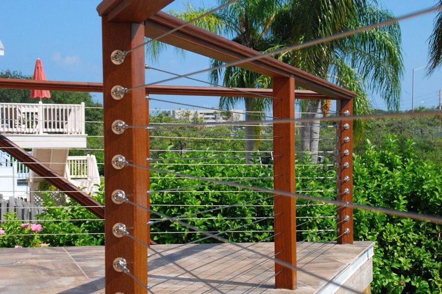 metal deck railing panels deck railing photo gallery. Black Bedroom Furniture Sets. Home Design Ideas