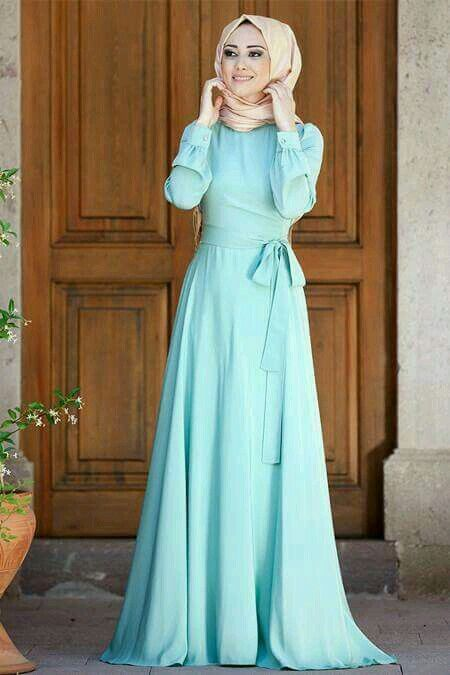 Préférence Pin by Quraishath Shama on hijaab | Pinterest | Muslim gown, Hijab  SB77