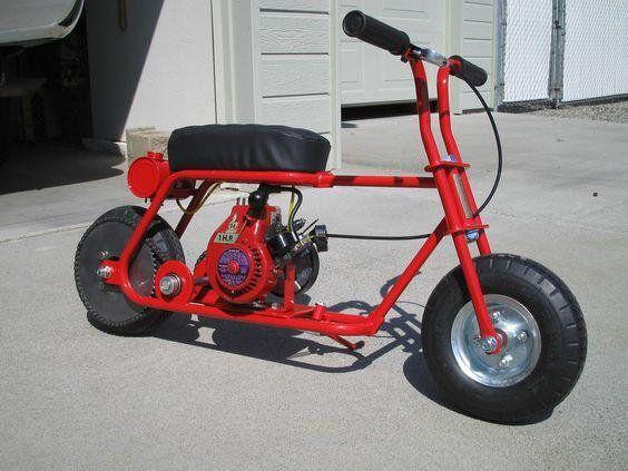 Scooter Mini Bike Plans DIY Metal Frame Minibike Outdoor Sports