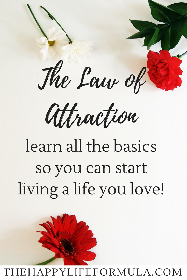 Love Attraction Quotes The Beginner's Guide To The Law Of Attraction  Inner Peace