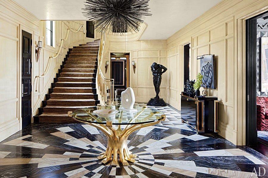 KELLYWEARSTLER strada CHANDELIER Bel Air Floor Design