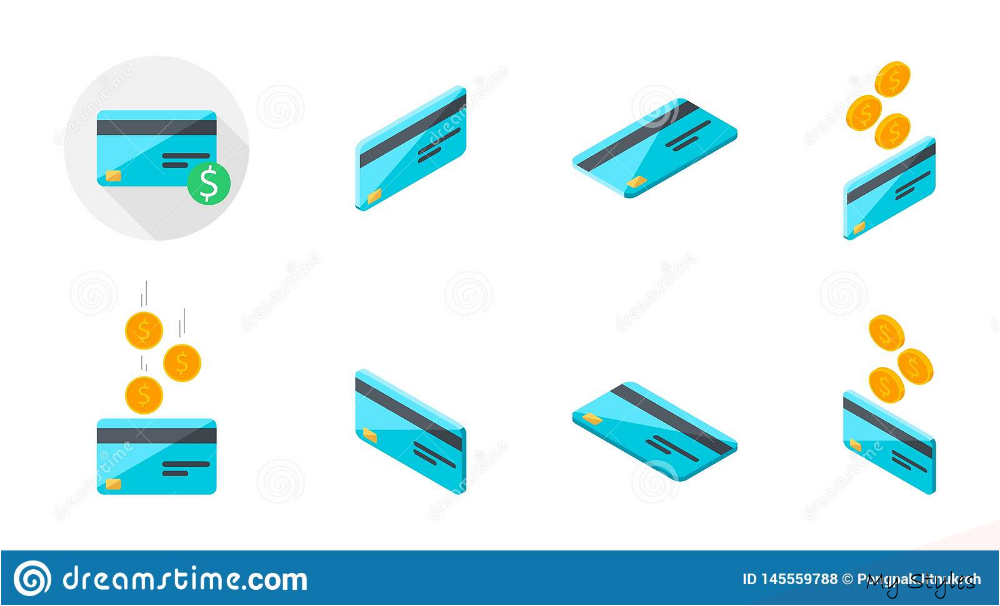 credit card vector #credit #card #creditcard Credit Card, Earn Money, Isometric, Coin, Icon Set Stock Vector - Illustration of money, earn: 145559788 #earn #money #teenager