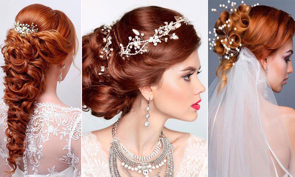 Pettinature sposa con capelli rossi: idee bellissime ...