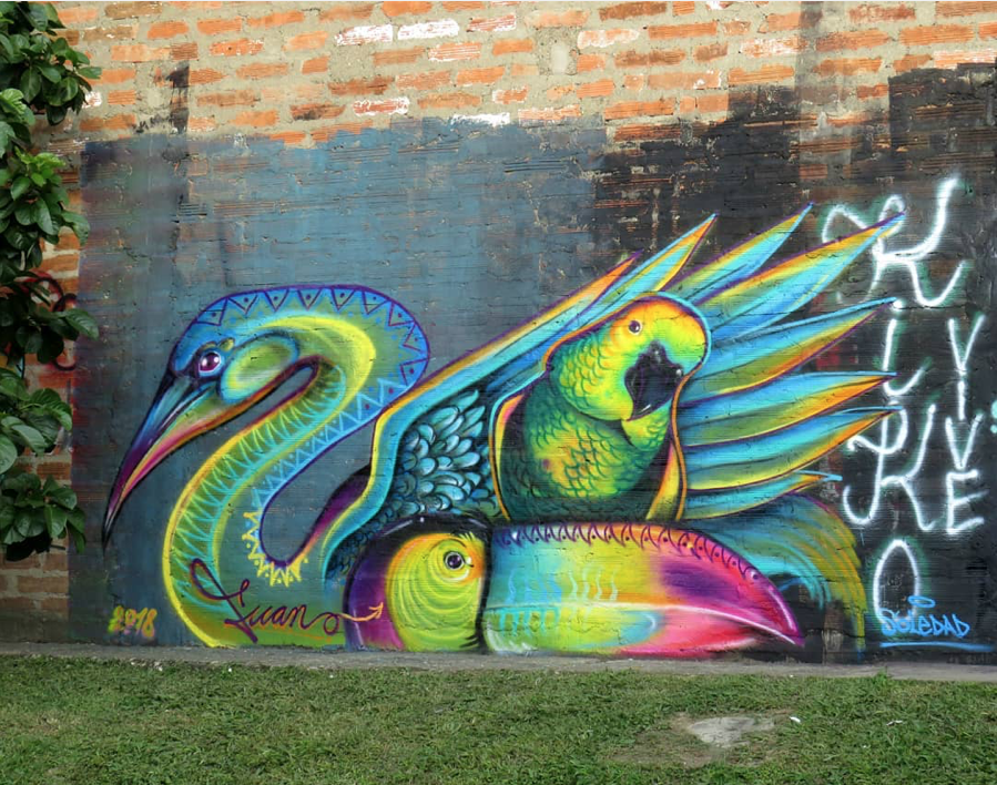 Fuan Nexio for SUR FEST in Medellin, Colombia, 2018 | Graffiti e ...