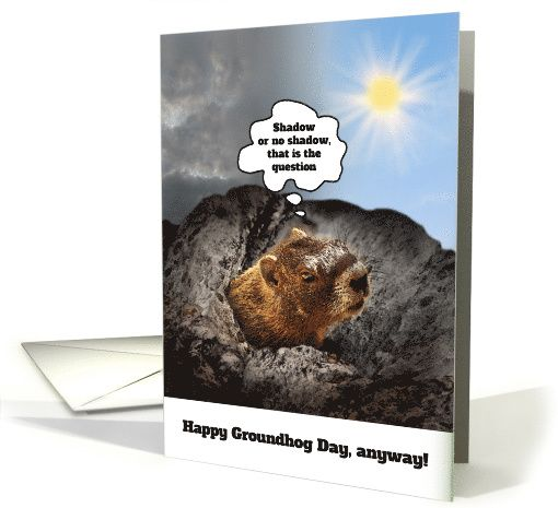 Happy groundhog day card greeting cards for the world pinterest happy groundhog day card m4hsunfo