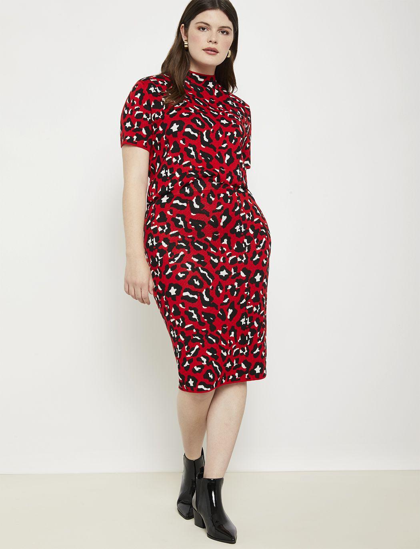 Intarsia Sweater | Women's Plus Size Tops | ELOQUII 3