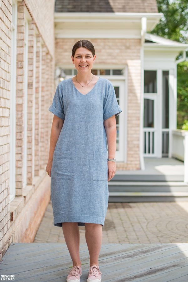 7af853607f Sewing Like Mad: The Adeline Dress by Style Arc Patterns   sewing ...