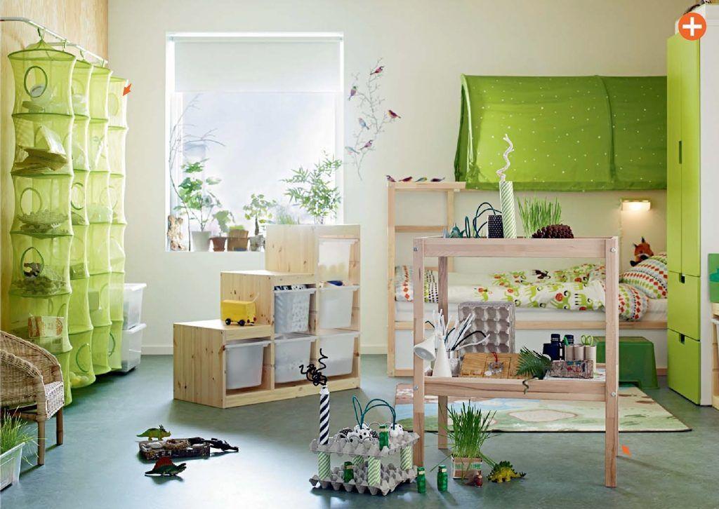 modernes Kinderzimmer-Wandgestaltung blau grün gelb | Jungszimmer ...