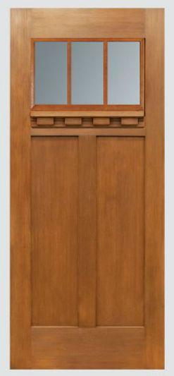 Waudena Millwork Craftsman Front Door Products We Like Pinterest