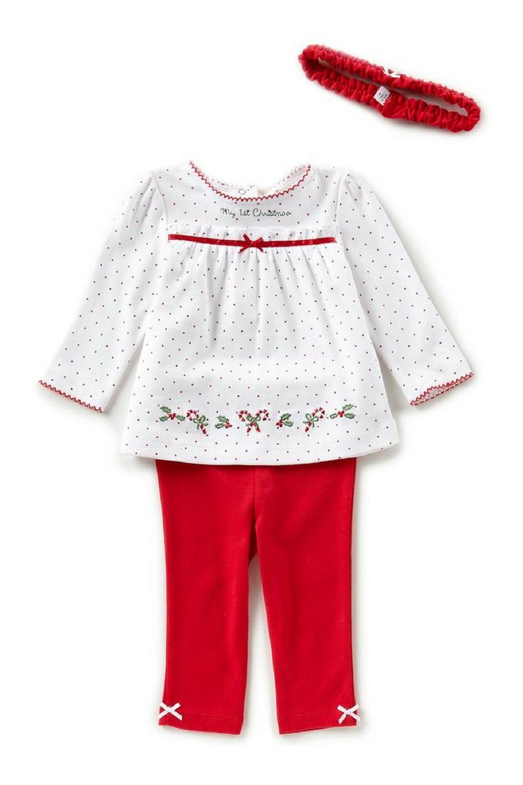 girls kids christmas tunic and pant outfit ad christmas