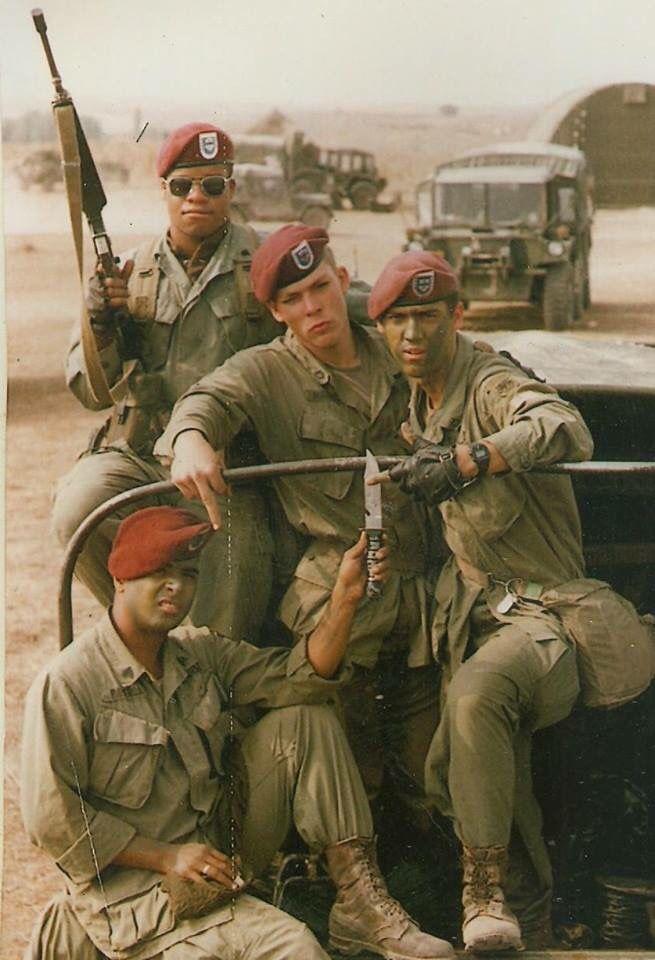 325th 80 S Military Veterans Afghanistan War Paratrooper
