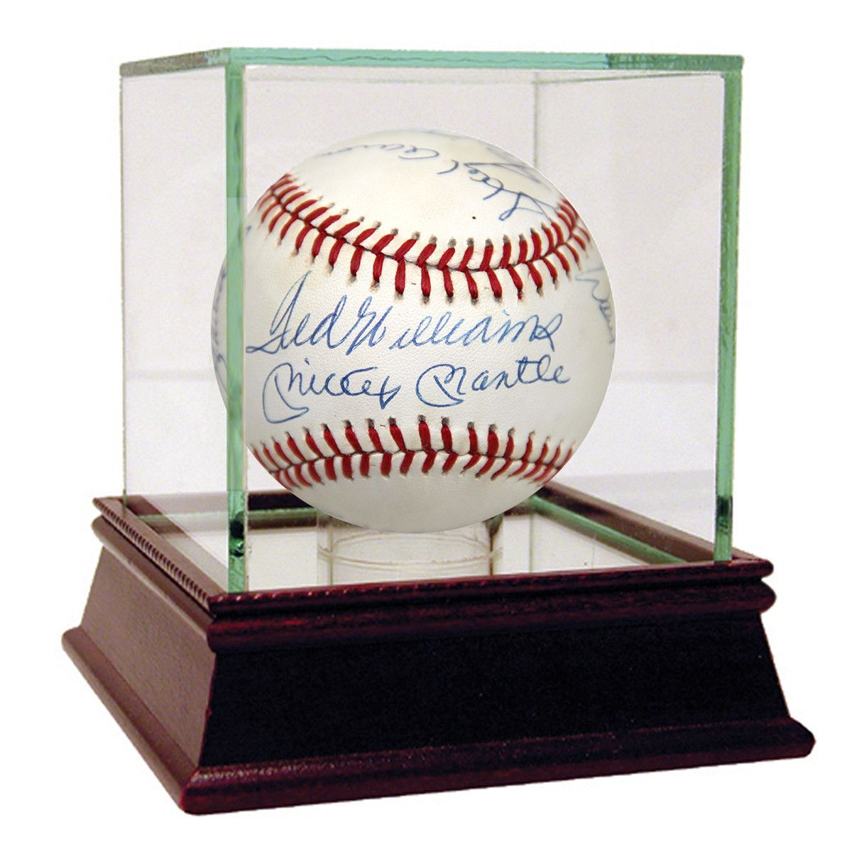 500 Home Run Club Signed OAL Baseball (11 Signatures) (JSA)