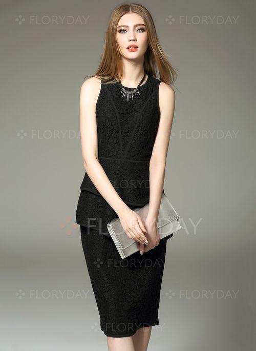 Elegante kleider schwarz weiss