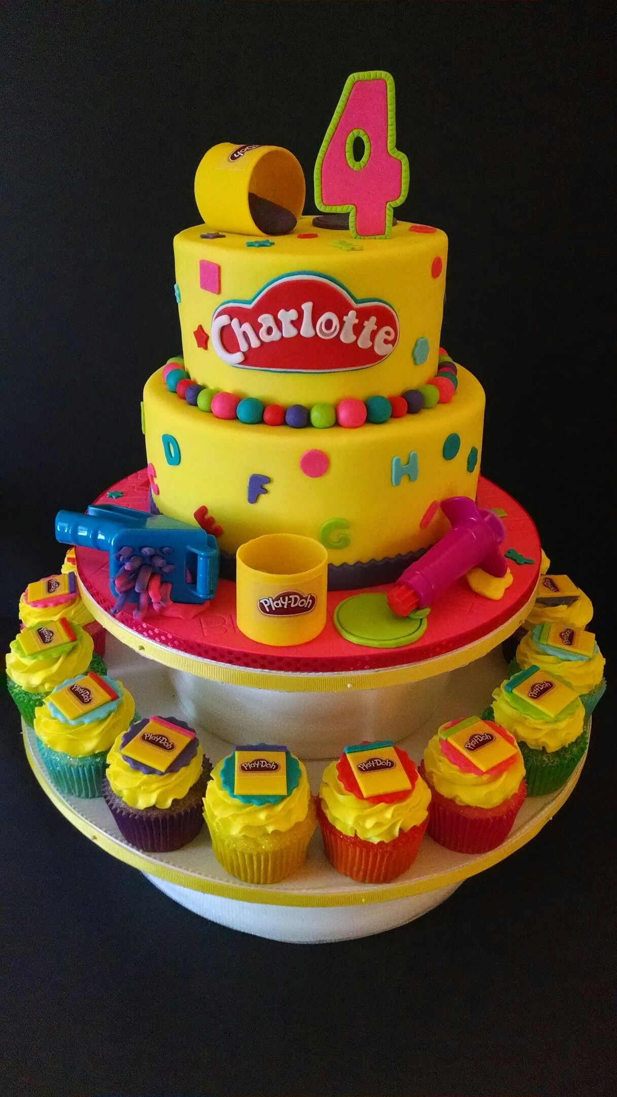 play doh themed birthday the house of cakes pinterest play doh plays and birthdays. Black Bedroom Furniture Sets. Home Design Ideas