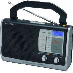 A Weather radio. To be safe, I should invest in one...knock on wood.