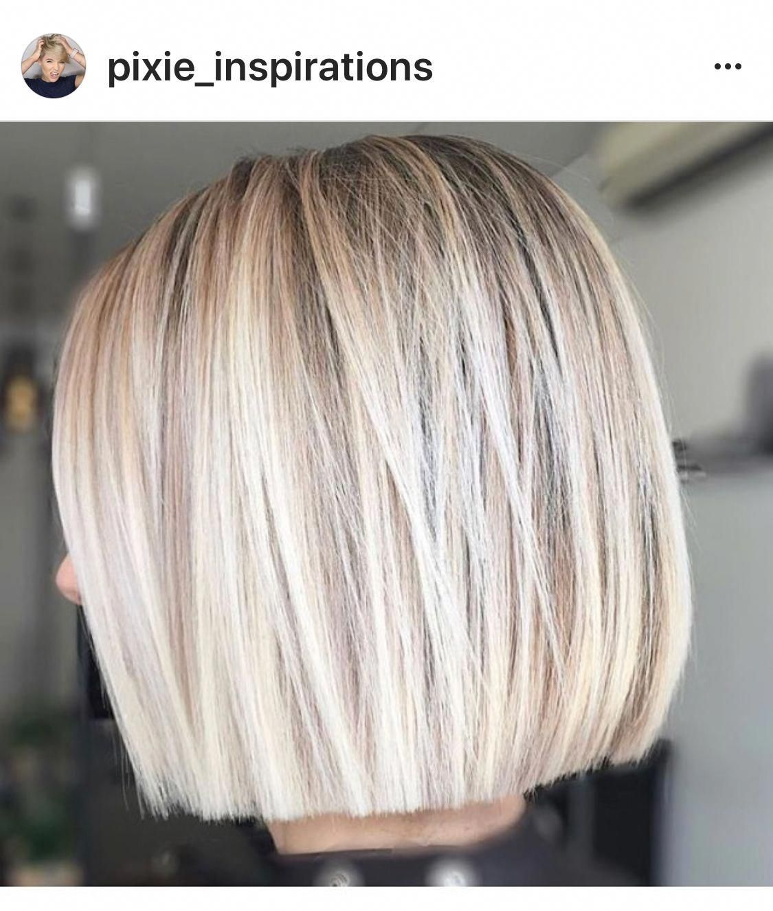 I Adore This Hair Ashybalayageshorthair Hair Styles Short Hair Styles Real Hair Wigs