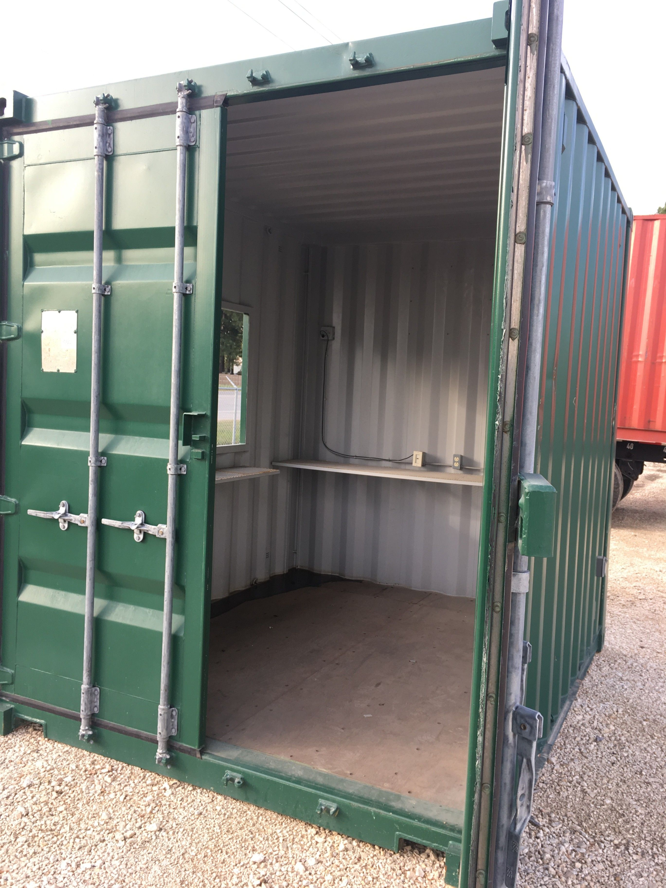 Ems shipping container bar to rentin houston area or