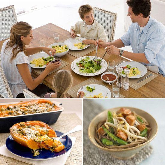 quick mediterranean diet family dinner