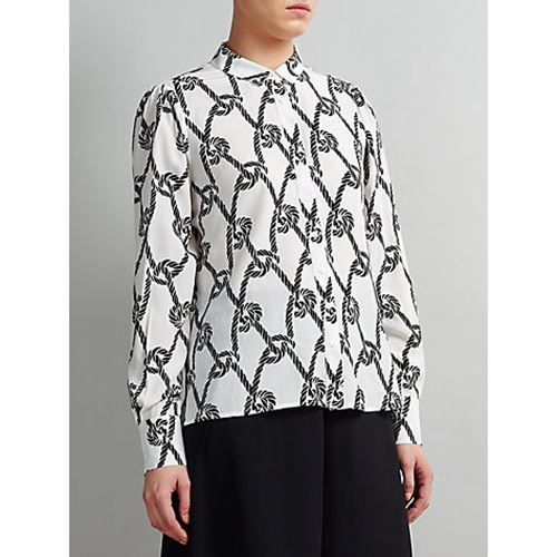 factory authentic 6eac6 33a49 High Quality Buy Women Tops Somerset By Alice Temperley Rope Print Shirt,  Black x2F White   Nike Air Max Rea,50% off!